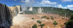 Kendall Iguazu Falls Panoramic shot
