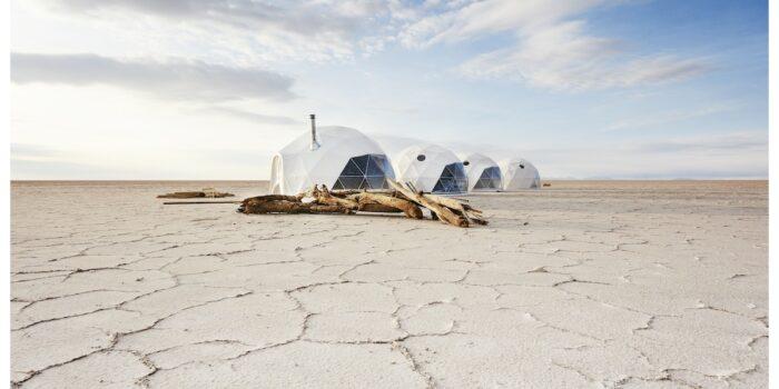 Bolivia Travesia Glamping Salt Flats