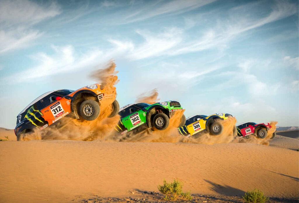 Dakar Rally cars