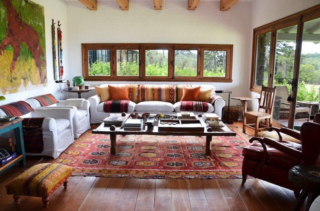 Estancia El Boqueron, Argentina - Sitting Room
