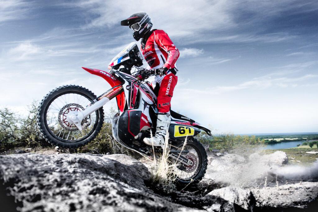 Dakar Rally Bike