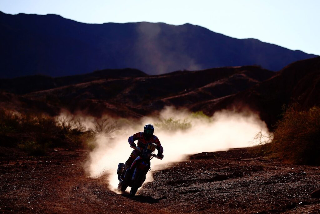 Dakar Rally Bike