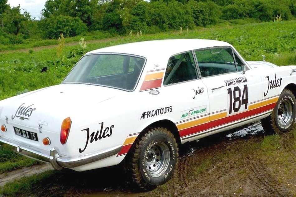 Dakar Rally Rolls Royce Corniche