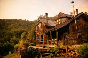 Barraco Lodge, Patagonia, Chile - House Exterior