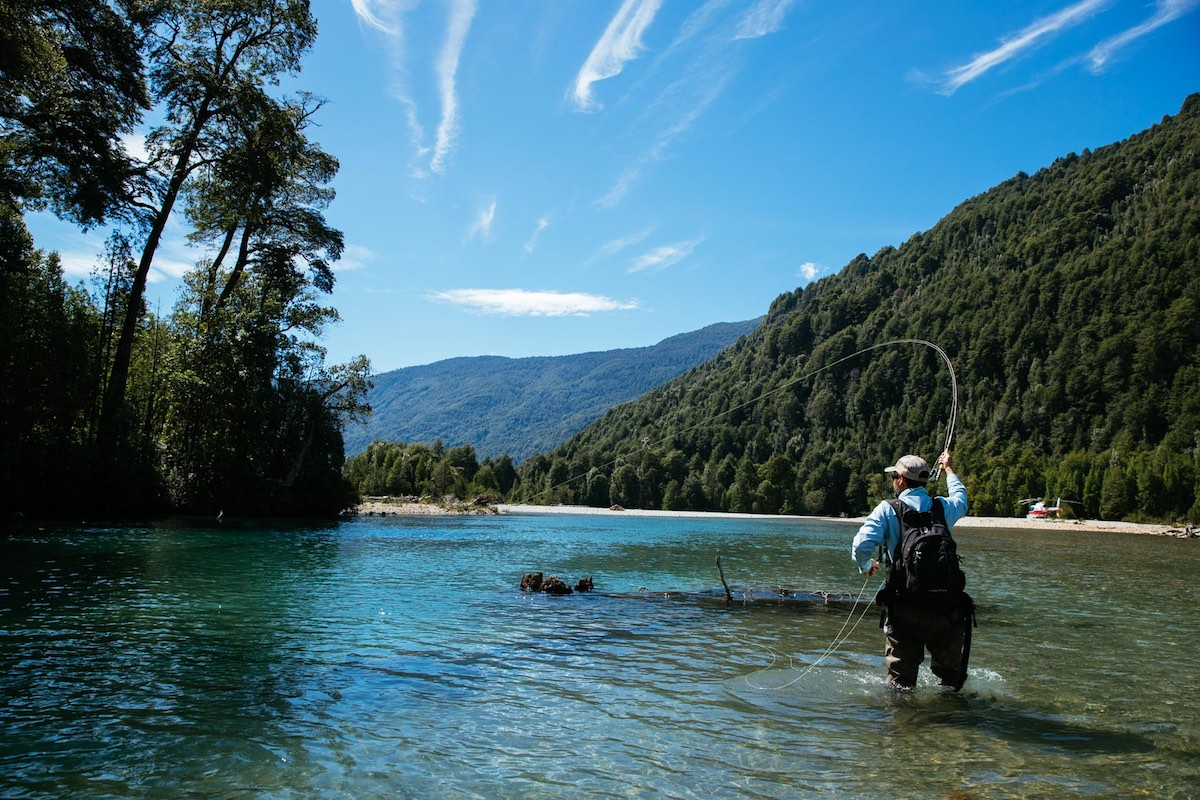 Barraco Lodge, Patagonia, Chile - Fly Fishing