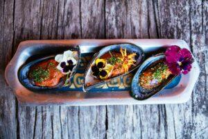 Barraco Lodge, Patagonia, Chile - Seafood
