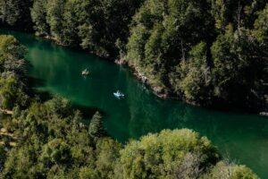 Barraco Lodge, Patagonia, Chile - Rafting