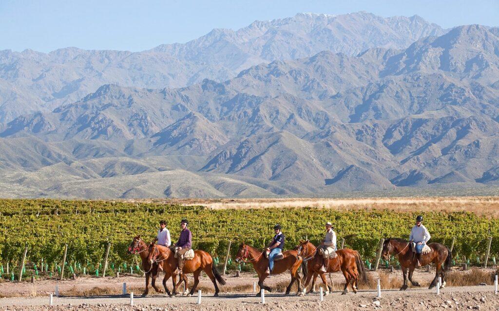 Casa de Uco, Mendoza, Argentina - Riding