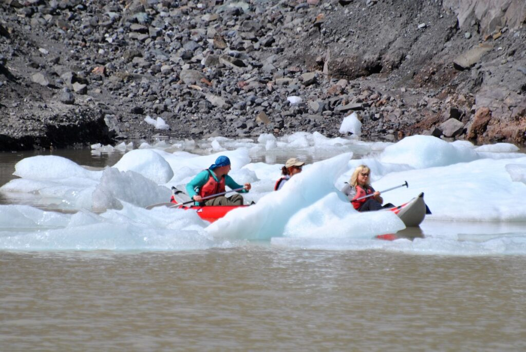 Cruising the Chilean Fjords - Kayaking through ice