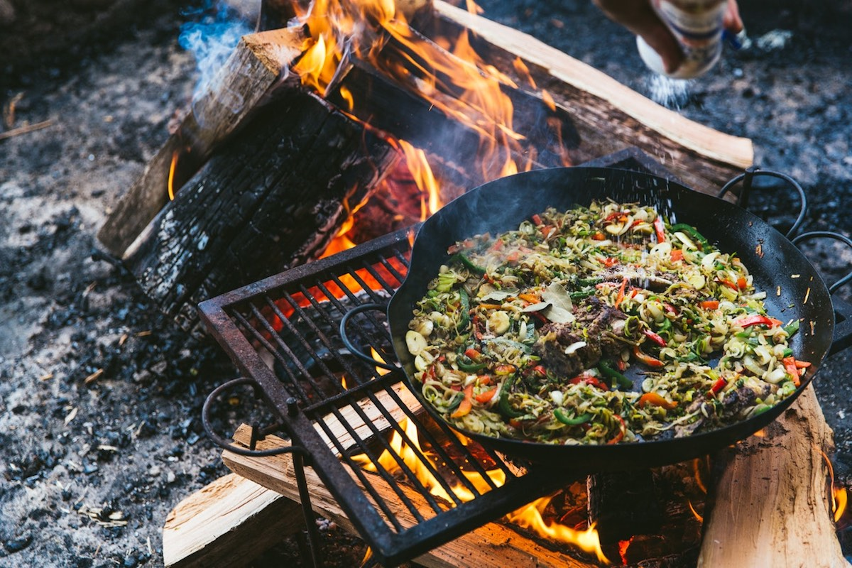Francis Mallmann - Patagonia Island - Cooking