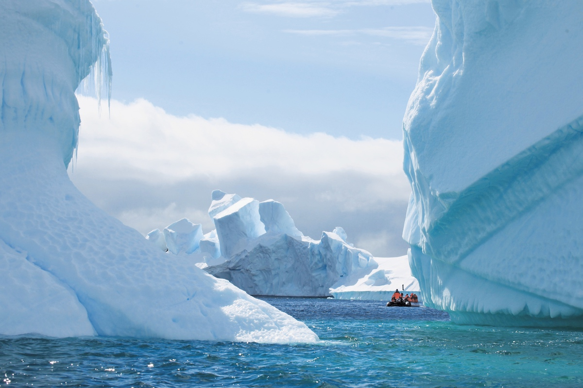 Plan South America | Antarctica cruise, tubular ice