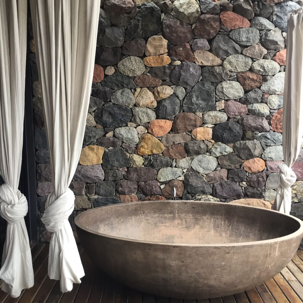 The Vines of Mendoza, Argentina - Stone Bathtub