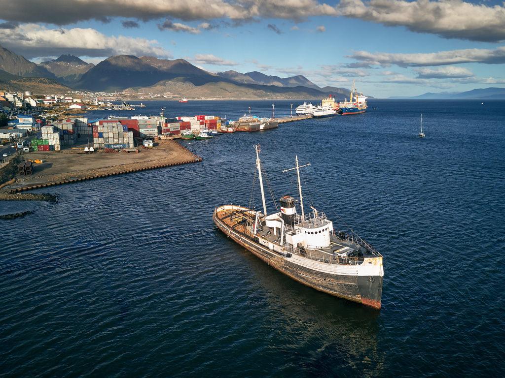 Ushuaia Argentina - Abandoned Ship