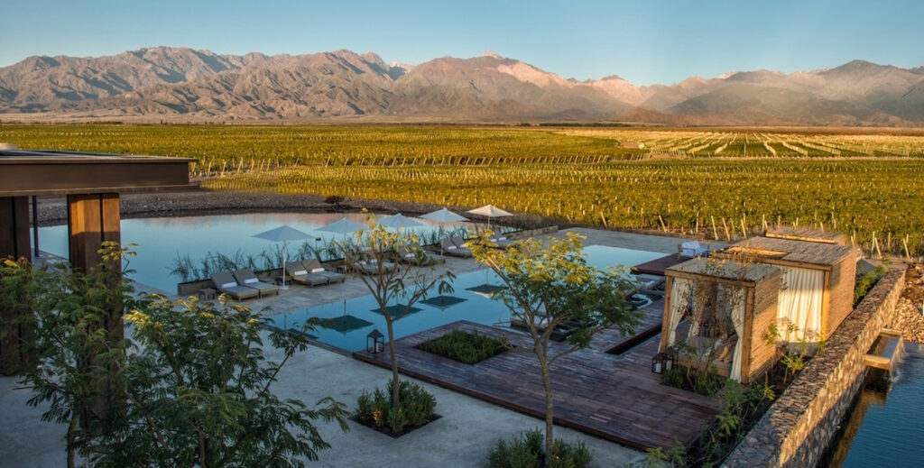 The Vines Resort & Spa, Mendoza, Argentina - Mountain View