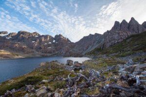 Los Dientes de Navarino, Chile - Lagoon