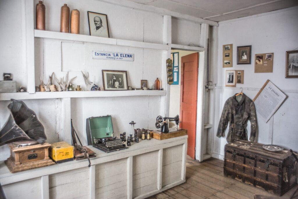 Estancia La Maipu - Patagonia, Argentina - Museum Artefacts