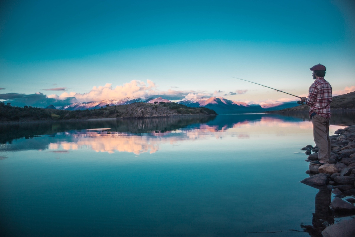 Estancia La Maipu - Patagonia, Argentina - Sunset Fishing