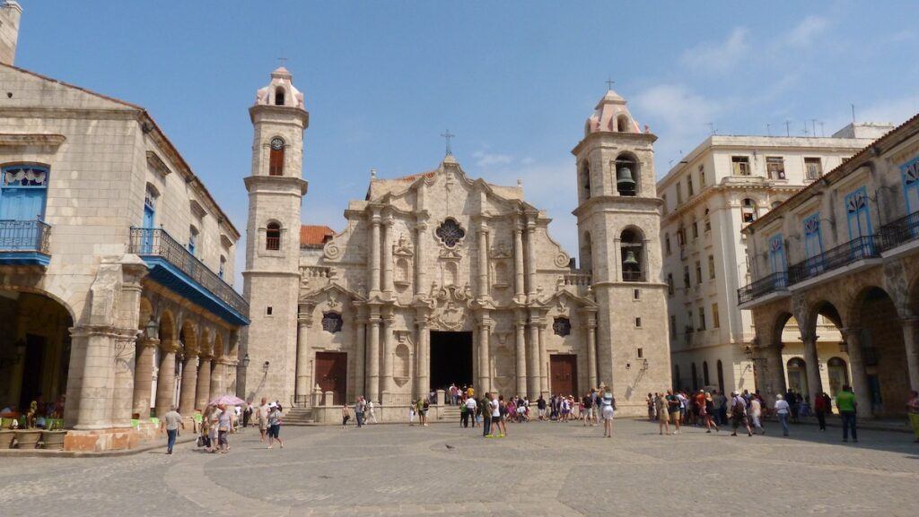 Havana, Cuba - Church Square