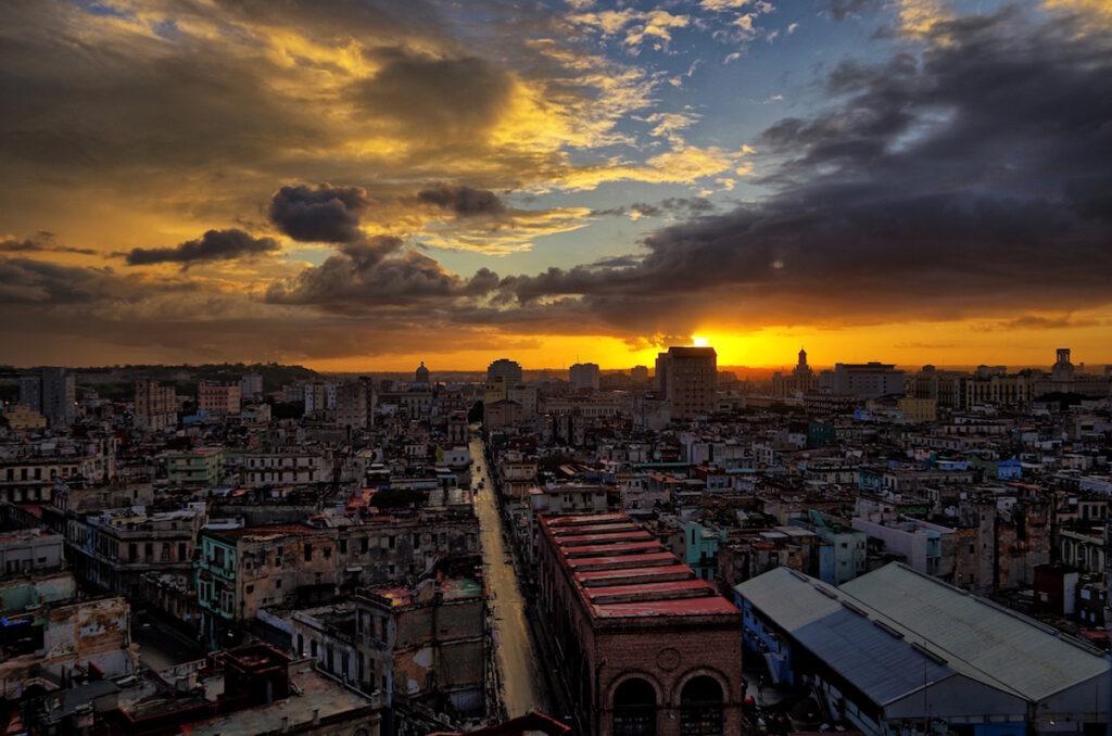 Havana, Cuba - City Aerial View