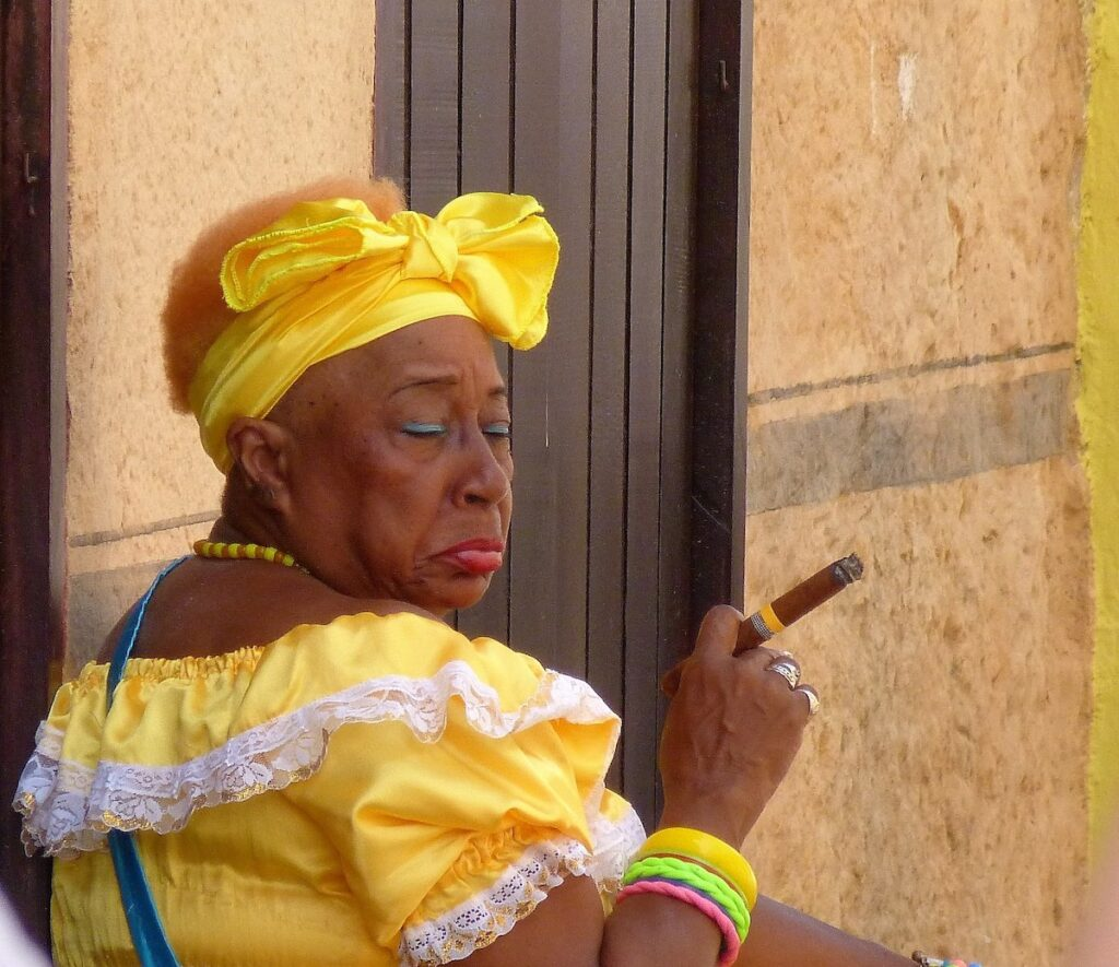 Havana, Cuba - Cigar Smoking
