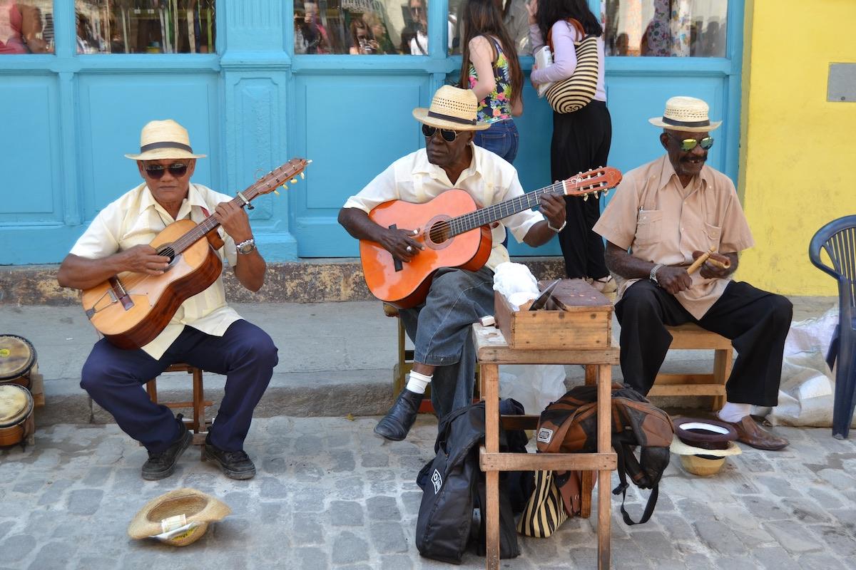 Havana, Cuba - Street Musicians