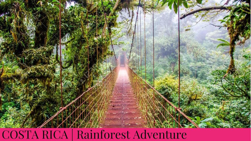 Family Inspired Adventures - Costa Rica Rainforest Adventure