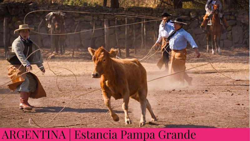 Family Inspired Adventures - Estancia Pampa Grande Argentina - Rodeo