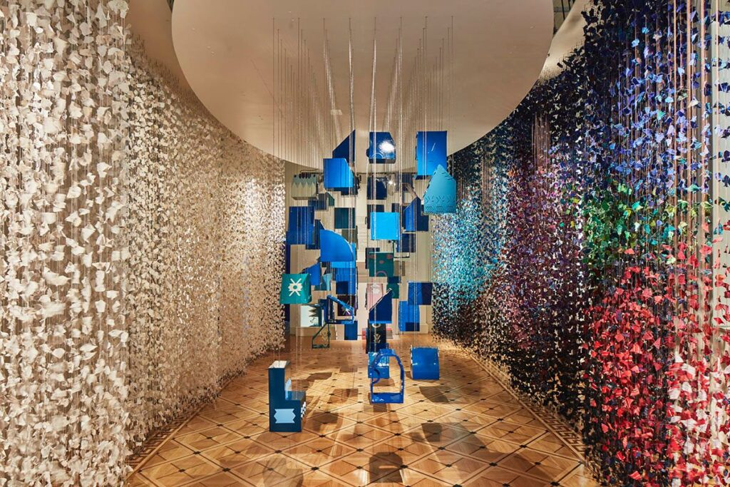 Palopo Art Installation, Diego Olivero, London Design Biennale