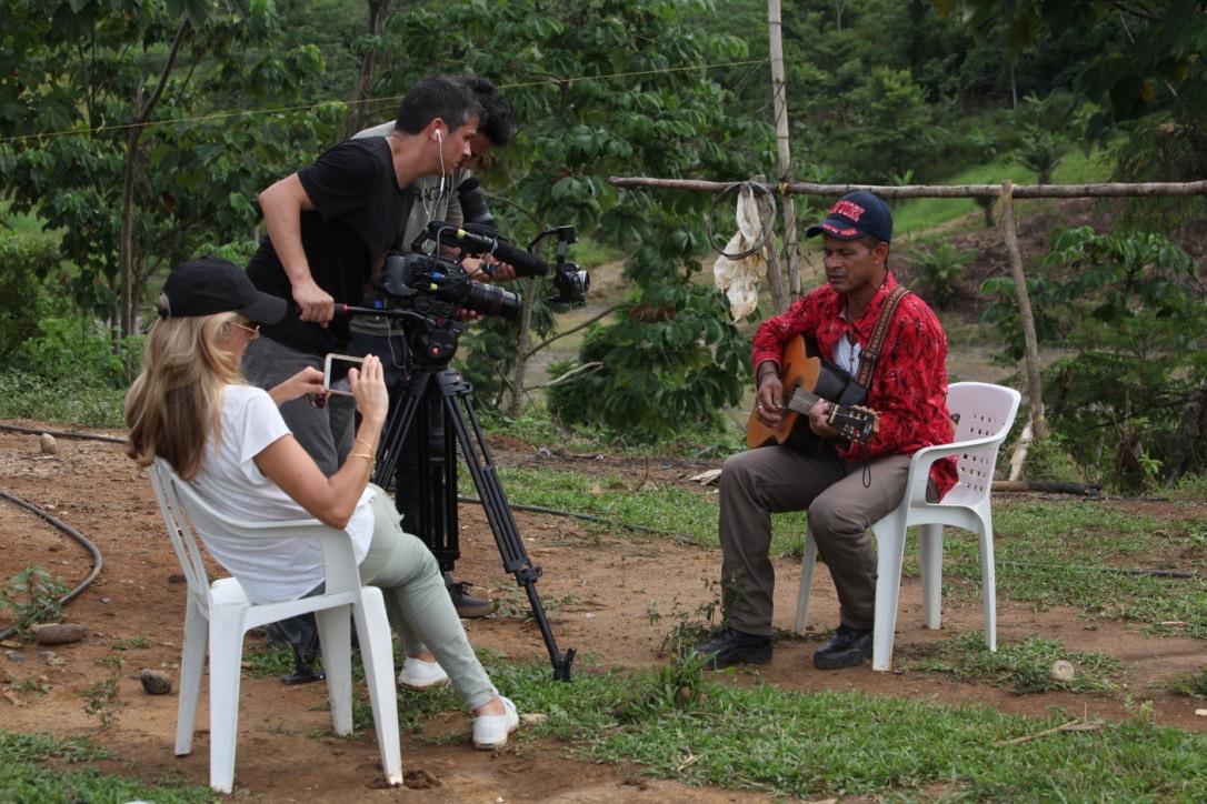 Kate Horne Colombia Documentary, Testigo - interview