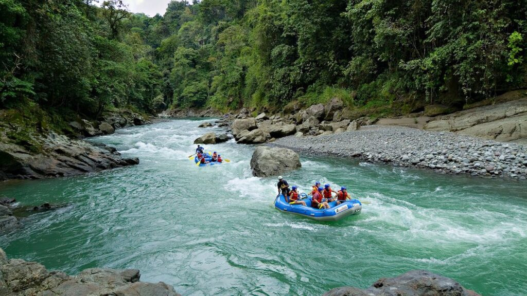 Rafting at Pacuare Lodge, Costa Rica