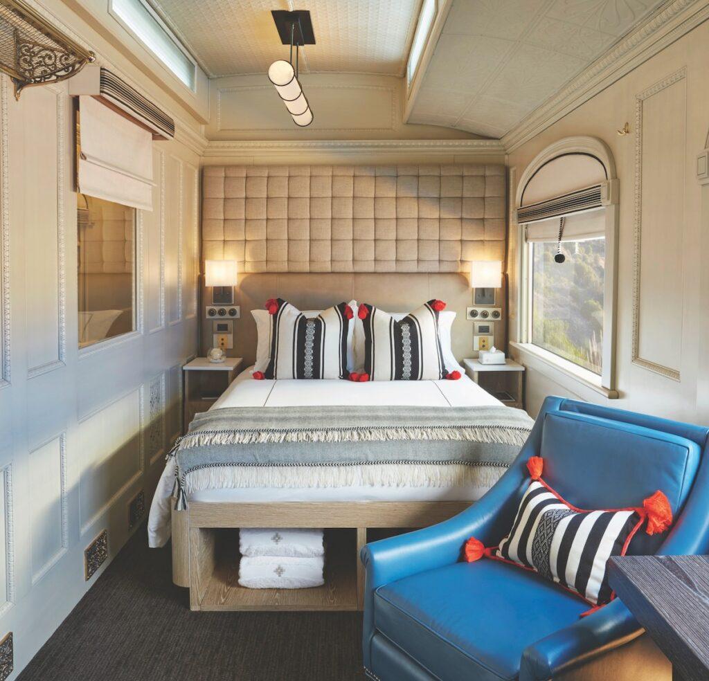 Belmond Andean Explorer Train Peru - Deluxe Cabin
