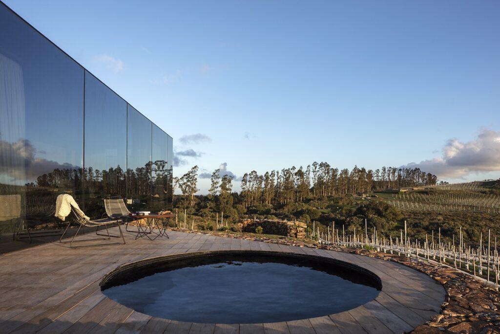 Landscape Hotel Sacromonte, Uruguay - Deck Plunge Pool