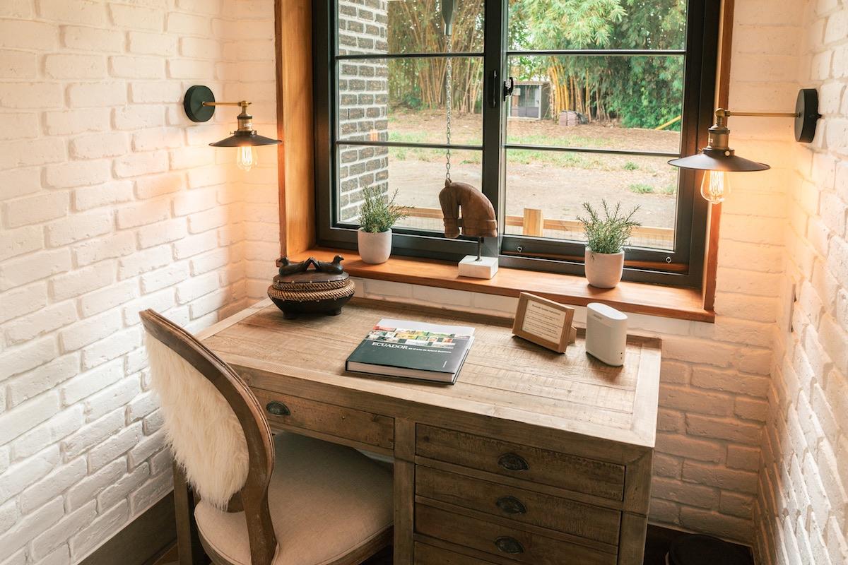 Hacienda La Danesa, Ecuador - Garden Cottage Writing Desk