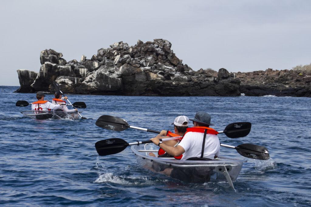 Trimaran Camila - Kayaking, Galapagos