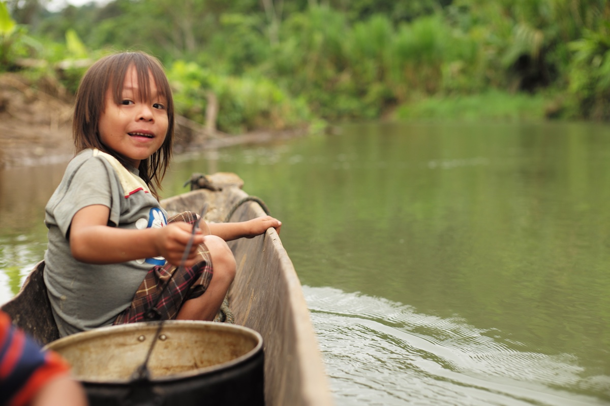 Naku, Ecuadorian Amazon - canoeing