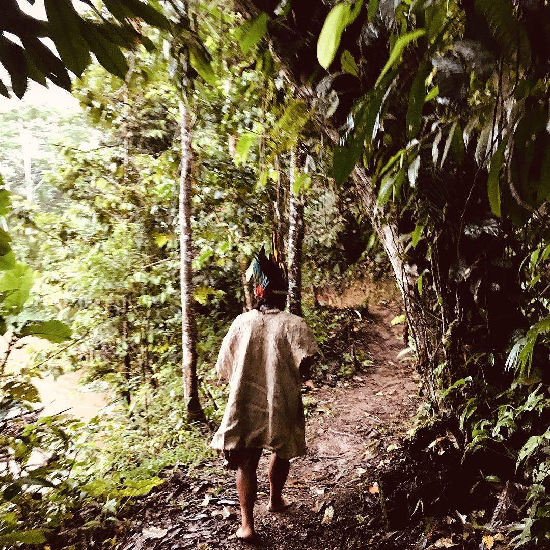 Naku, Ecuadorian Amazon - Sapara Tribesman