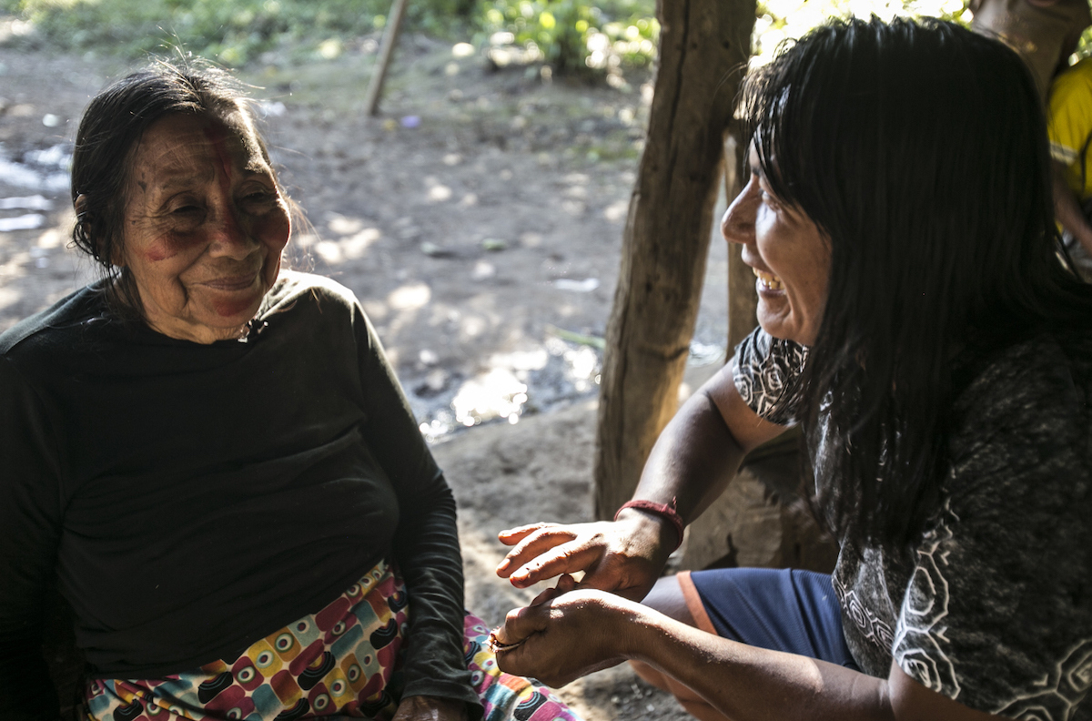 Naku, Ecuadorian Amazon - Sapara Women