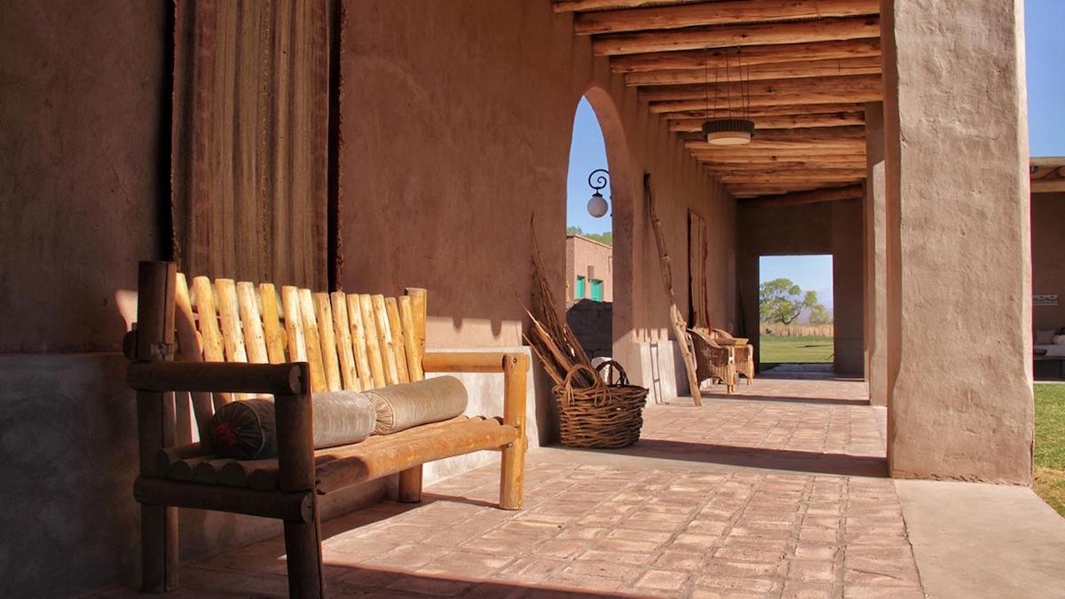 Posada Paso de los Patos, Argentina - Veranda Chairs