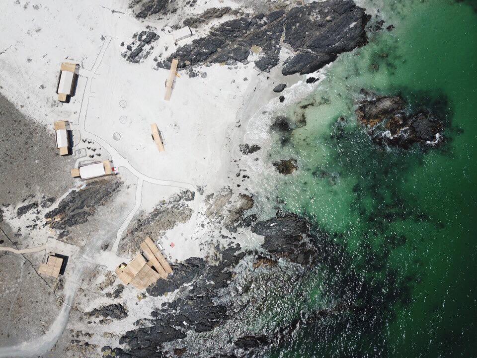 Wara Nomade, Chile - Aerial View