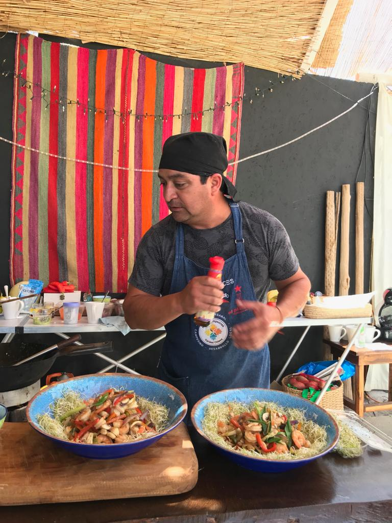 Wara Nomade, Chile - Kitchen