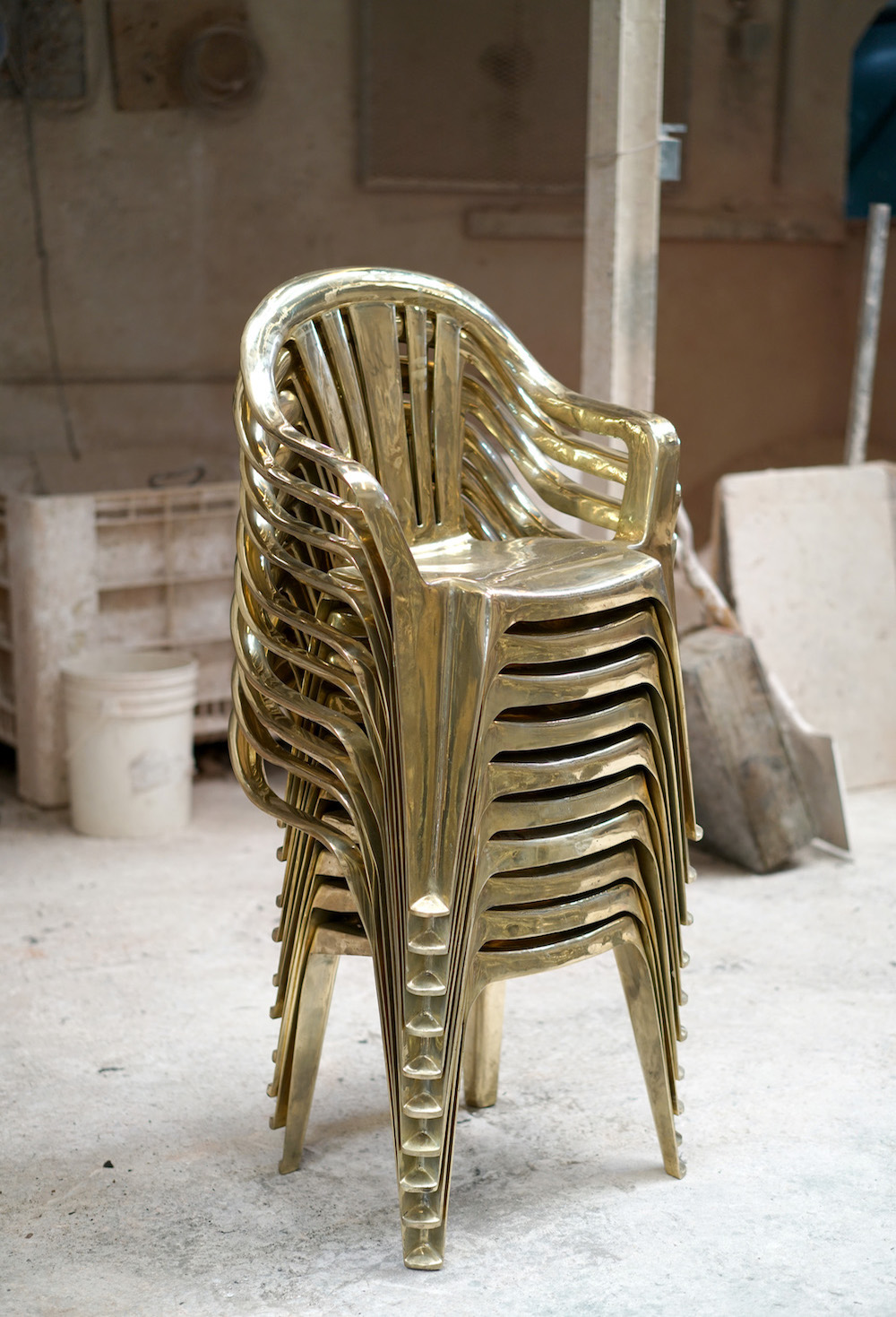 Luna Paiva Stacked Chairs