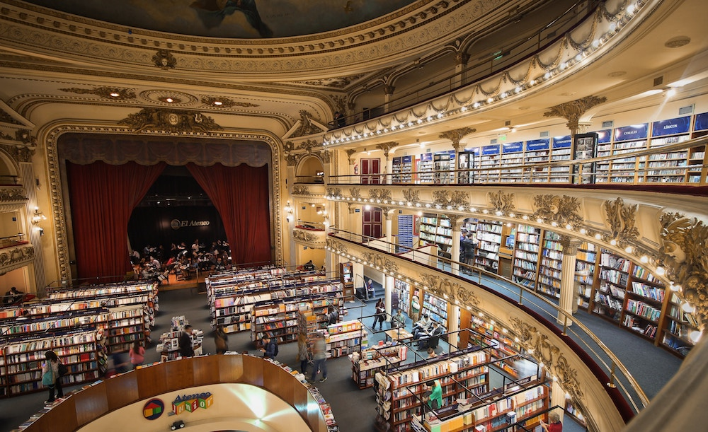 El Ateneo Grand Splendid, Latin American book shops