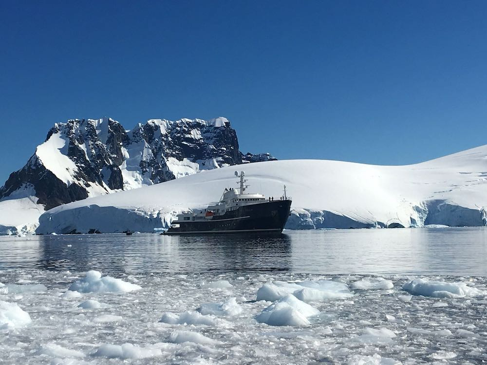 M/Y Legend, superyacht, Antarctica | Plan South America