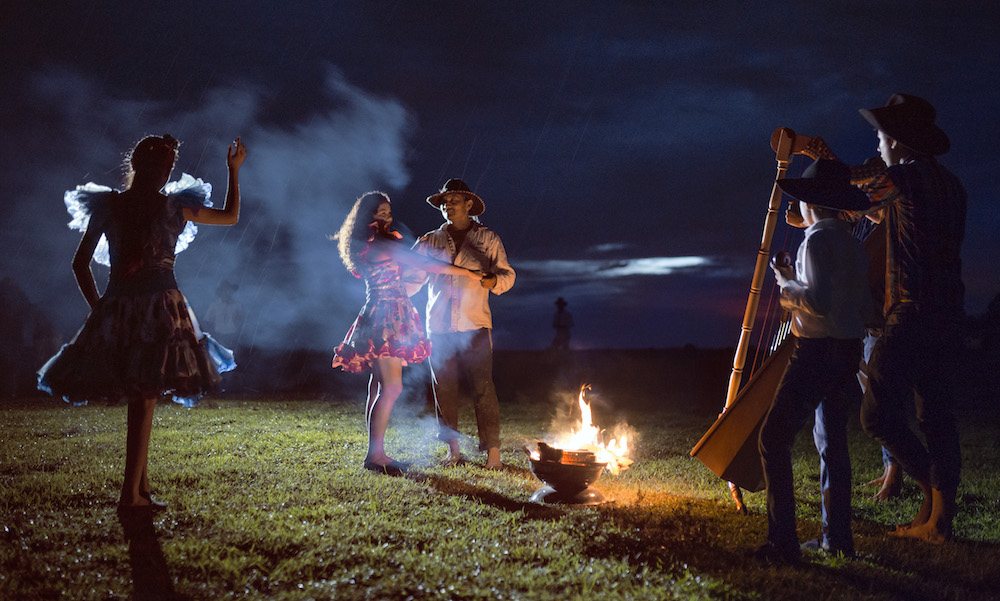 Corocora Camp, fireside dancing | Plan South America