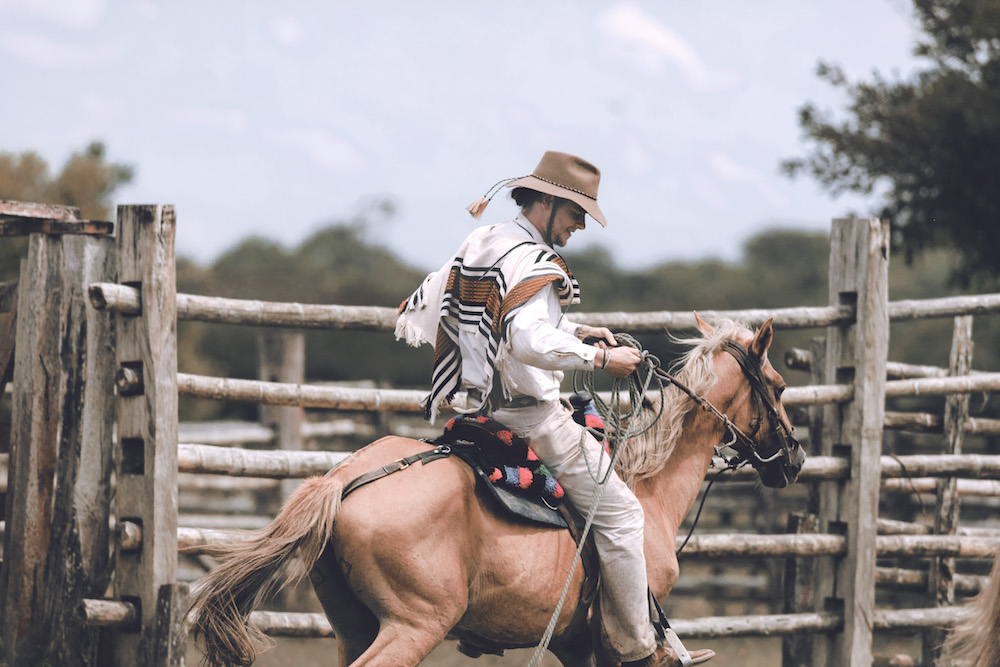 Llanero cowboy, riding, Colombia | Plan South America