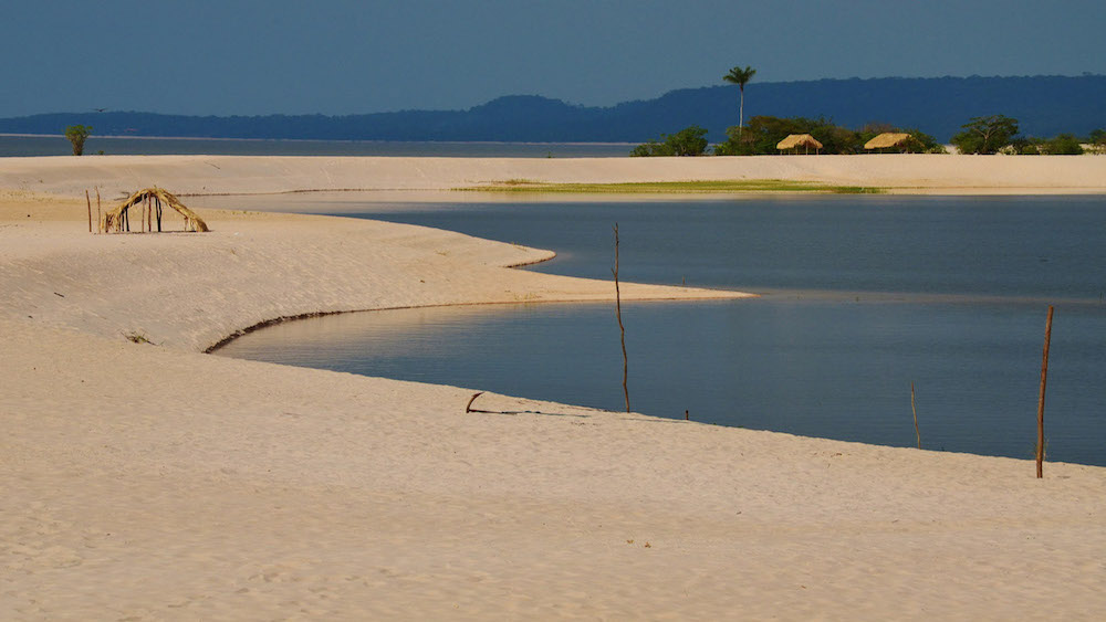 Amazon beaches, Tupaiu river cruise