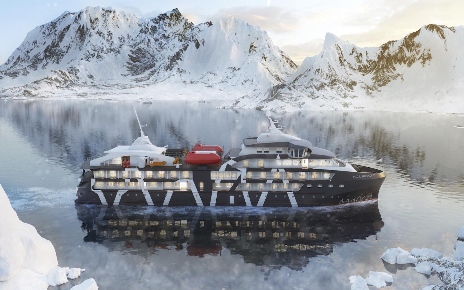 Plan South America   Magellan Explorer, Antarctica