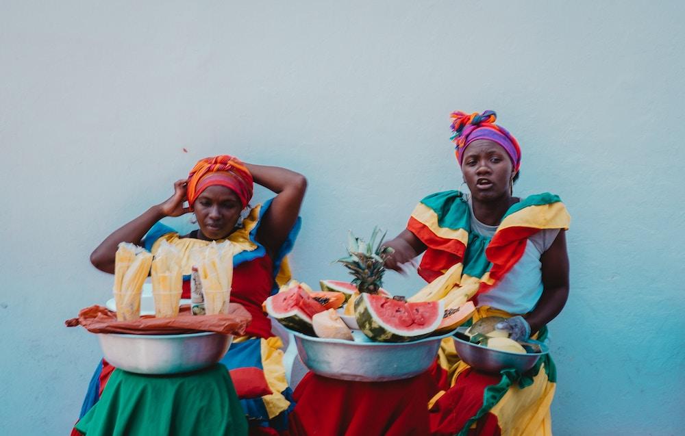 Plan South America | Cartagena, fruit sellers