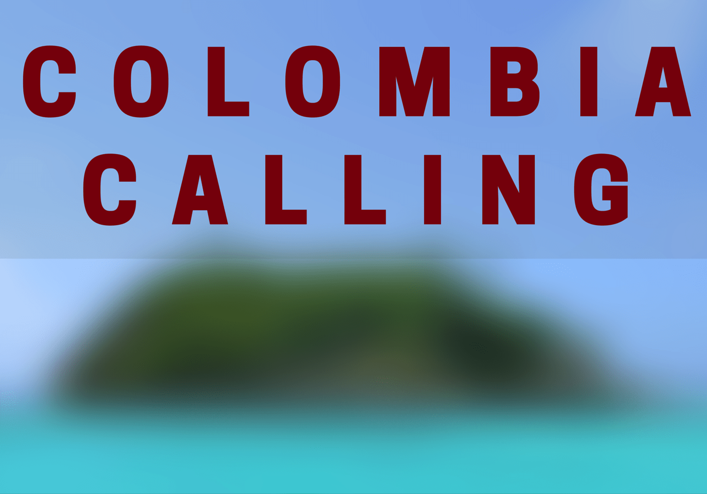 Richard McColl on Colombia