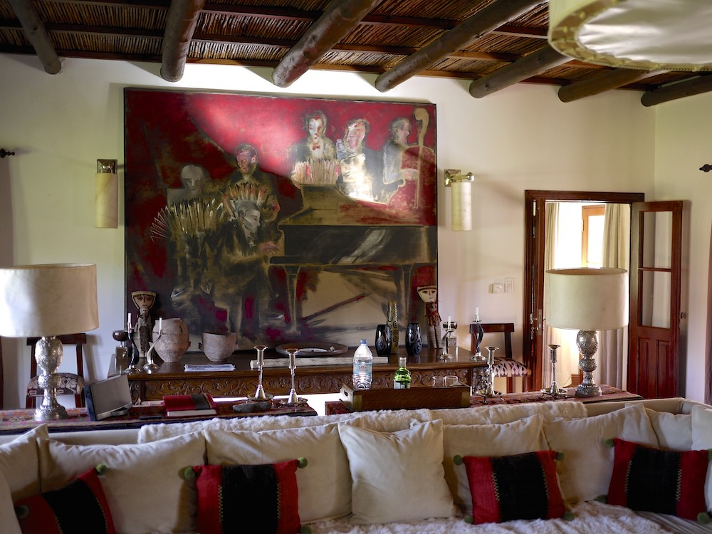 Estancia Pampa Grande, dining room